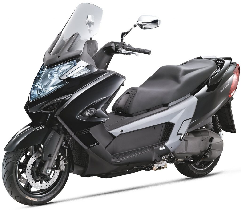 Kymco My Road 700i silber