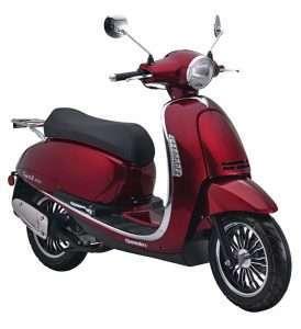 Capri II 125i EURO4 rot