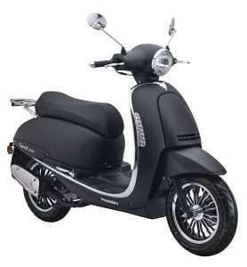Capri II 125i EURO4 schwarz