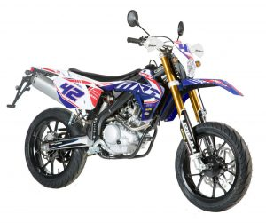 Marathon Replica Supermoto 125/Liquid Cooled Blau